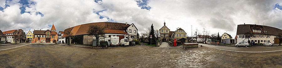 Schlosshof Höpfigheim